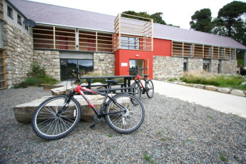 Knockree Youth Hostel : Front Exterior View of Knockree Youth Hostel, (Republic of) Ireland