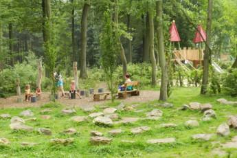 Westerlo - Boswachtershuis : Garden Area in Westerlo - Boswachtershuis Hostel, Belgium