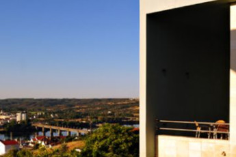 Abrantes : Views from the Abrantes hostel in Portugal