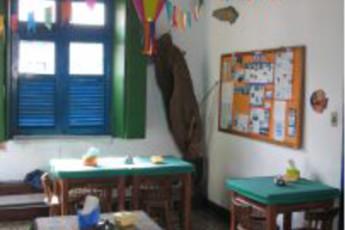 Olinda – Olinda Hostel : Dining room in the Olinda - Olinda hostel in Brazil