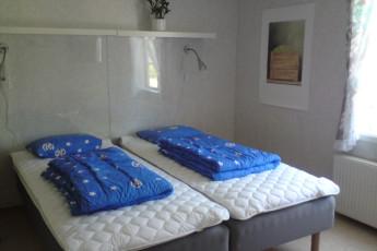Ljungby/Södra Ljunga : Double room in the Ljungby/Sodra Ljunga hostel in Sweden