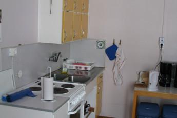 Ljungby/Södra Ljunga : Kitchen in the Ljungby/Sodra Ljunga hostel in Sweden