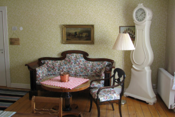Ljungby/Södra Ljunga : Lounge in the Ljungby/Sodra Ljunga hostel in Sweden