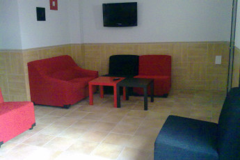 Toledo - Los Pascuales : Lounge in the Toledo - The Easter hostel in Spain