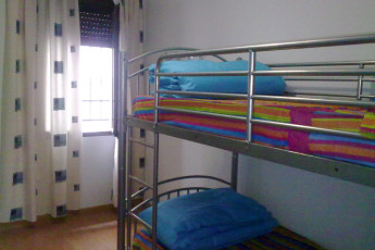 Toledo - Los Pascuales : dorm room in the Toledo - The Easter hostel in Spain