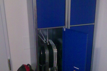 Toledo - Los Pascuales : Lockers in the Toledo - Los Pascuales hostel in Spain