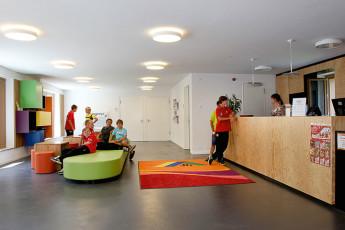 Ravensburg-Veitsburg : Reception area in Ravensburg-Veitsburg , Germany
