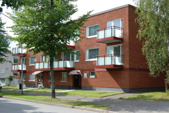 Joensuu - Finnhostel Joensuu : Front Exterior View of Joensuu - Finnhostel Joensuu Hostel, Finland