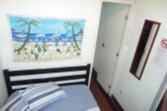 Rio de Janeiro - Brothers Hostel : Double Bedroom in Rio de Janeiro - Brothers Hostel, Brazil