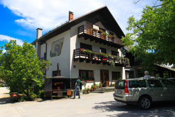 Youth Hostel Ljubno ob Savinji : Exterior of the Ljubno Ob Savinji hostel in Slovenia