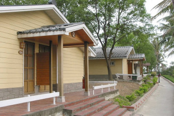 Chengching Lake Youth Activity Center : Exterior View of Rooms in Chengching Lake Youth Activity Center Hostel, Taiwan