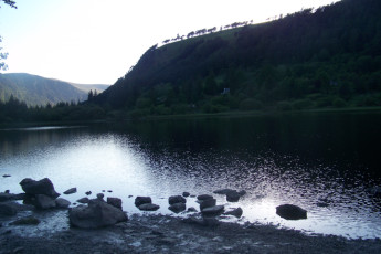 Glendalough International YHA : Landscape Surrounding Glendalough International Youth Hostel Association, (Republic of) Ireland
