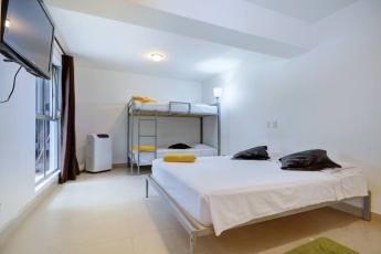 Medellin - Geo Hostel : family room in the Medellin Geo Hostel in Columbia