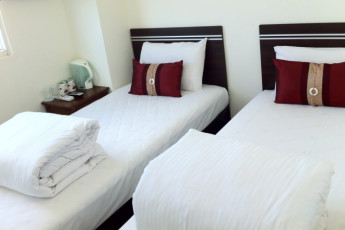 Spring Autumn Hotel - Hualien : Twin Room in Spring Autumn Hotel - Hualien Hostel, Taiwan