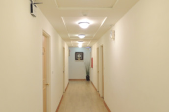 Spring Autumn Hotel - Hualien : Hallway to Bedrooms at Spring Autumn Hotel - Hualien Hostel, Taiwan