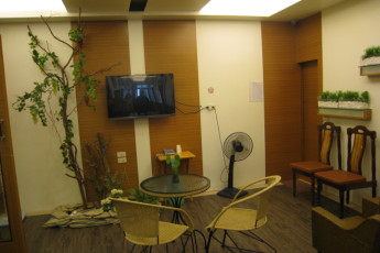 Yilan - Orient Jewel International YH : TV and Lounge Area in Yilan - Orient Jewel International Youth Hostel, Taiwan