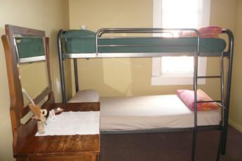 YHA Paraparaumu : Dorm Room in Paraparaumu Youth Hostel Association, New Zealand