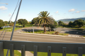 YHA Paraparaumu : View of Landscape from Paraparaumu Youth Hostel Association, New Zealand