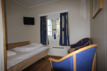Sarpsborg : Single room in the Sarpsborg hostel in Norway