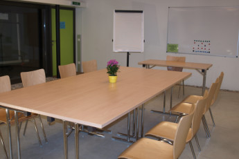 Melk : Conference room in the Melk hostel in Austria