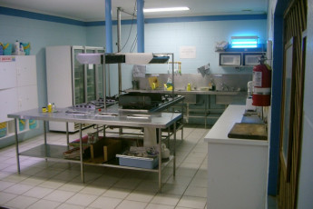 Cooktown YHA : Kitchen in the Cooktown Hostel in Australia