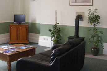 Aberdeen SYHA : Lounge in the Aberdeen Hostel in Scotland