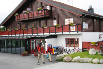 Geilo : Exterior View of Geilo Hostel, Norway