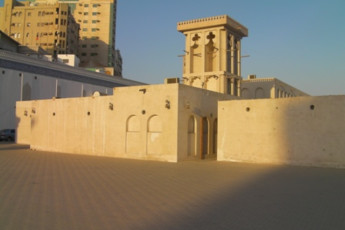 Sharjah Heritage Hostel : Exterior of the Sharjah Heritage Hostel in the United Arab Emirates