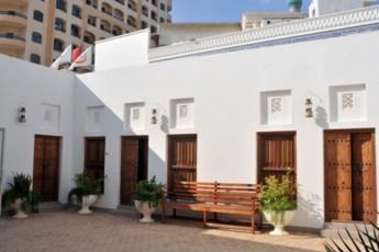 Sharjah Heritage Hostel : Exterior courtyard of the Sharjah Heritage Hostel in the United Arab Emirates