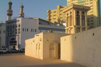 Sharjah Heritage Hostel : Exterior of the Sharjah Heritage Hostel in the United Arab Emirates