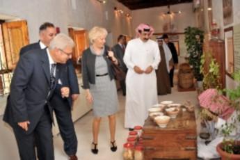 Sharjah Heritage Hostel : Guests in the Sharjah Heritage Hostel in the United Arab Emirates