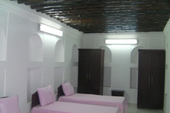Sharjah Heritage Hostel : Triple room in the Sharjah Heritage Hostel in the United Arab Emirates