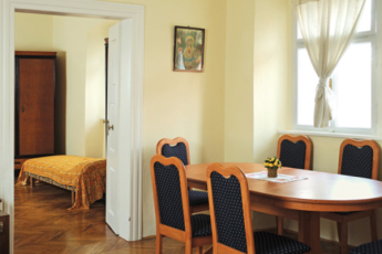 Youth Hostel Radovljica : Dining room in the Youth Hostel Radovljica in Slovenia