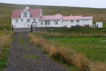 Ósar : Front Exterior View of Osar Hostel, Iceland