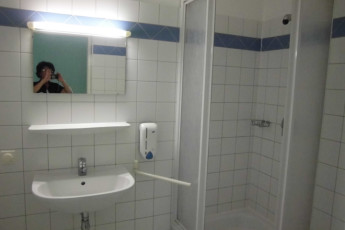 Salzburg - Aigner Strasse : bathroom in the Salzburg Aigner Strasse in Austria