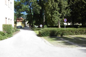 Salzburg - Aigner Strasse : exterior of the Salzburg Aigner Strasse Hostel in Austria