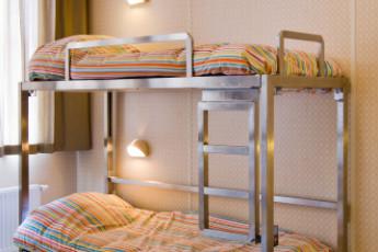Stayokay Amsterdam Zeeburg : Zimmer in einem Studentenwohnheim in Stayokay Amsterdam Zeeburg, Niederlande