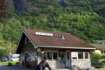 Flåm : Exterior View of Flam, Norway