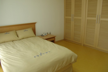Busan - Busan YH Arpina : Private double room in the Busan YH Arpina hostel in South Korea