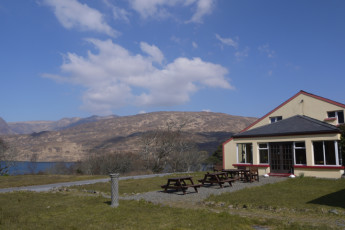 Connemara - The Connemara Hostel : Exterior of The Connemara Hostel in Ireland