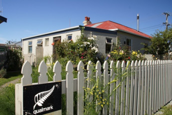YHA Oamaru : Exterior View of Oamaru Hostel, New Zealand