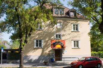 Krems Bicycle Youth Hostel : exterior of the Krems Bicycle Youth Hostel in Austria