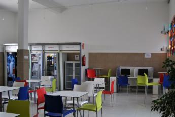 Albergue Inturjoven Jerez de la Frontera : im Gemeinschaftsbereich Hostel Herberge Inturjoven Jerez, Spanien