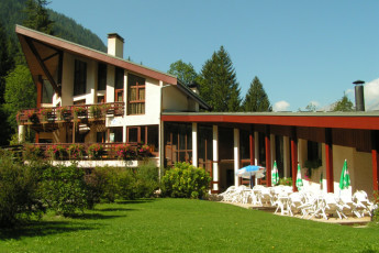 Auberge de jeunesse Hi Seez les Arcs : Exterior view of the Seez-les-Arcs in France
