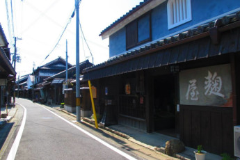 Yuasa - Arida Orange YH : Street near the Arida Orange hostel in Japan