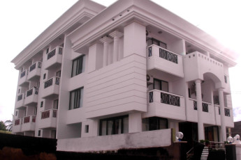 Puri Youth Hostel : Exterior of the Puri Youth Hostel in India
