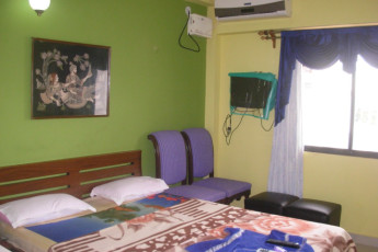 Puri Youth Hostel : Double room in the Puri Youth Hostel in India
