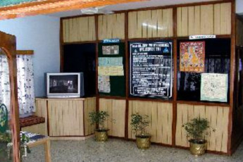 Bangalore Youth Hostel : Reception of the Bangalore Youth Hostel in India