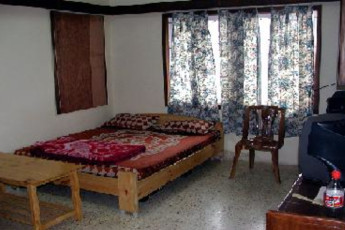 Bangalore Youth Hostel : Double room in the Bangalore Youth Hostel in India