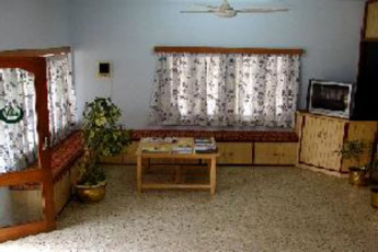 Bangalore Youth Hostel : Lounge in the Bangalore Youth Hostel in India